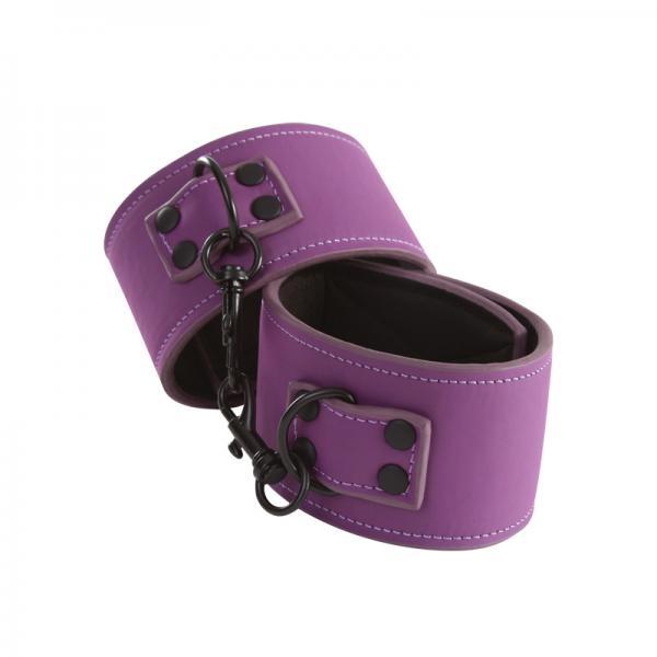 Lust Bondage Ankle Cuffs Purple