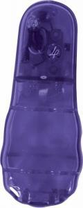 Vibrating butt beads - purple