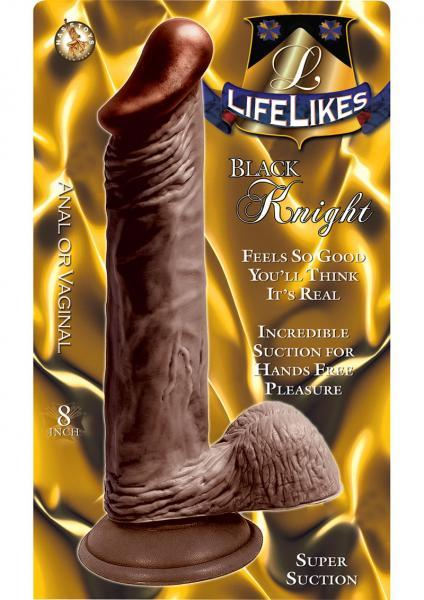 Lifelikes 8in black knight w/suction cup