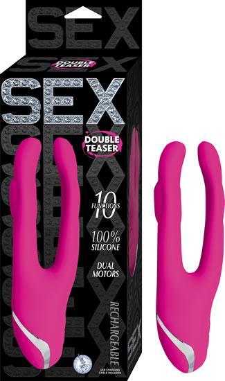 Sex Double Teaser Pink Vibrator