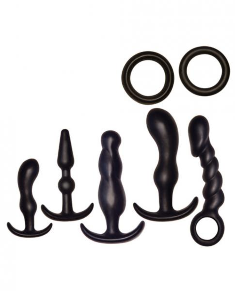 Ultimate Anal Kit Black 7 Unique Items