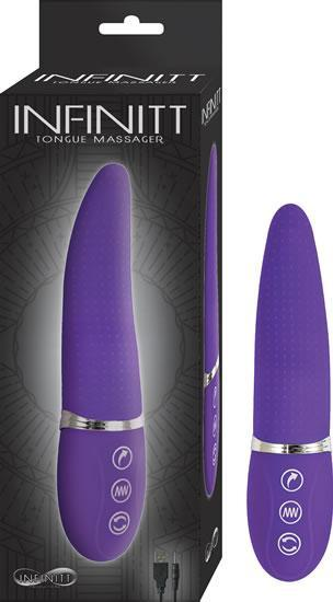 Infinitt Tongue Massager Purple Vibrator