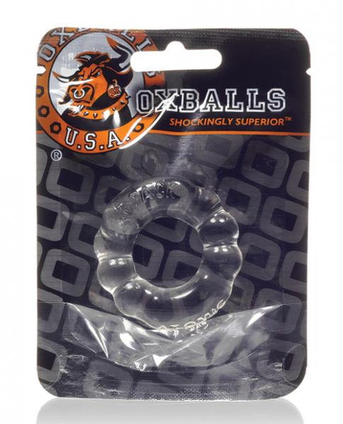 Oxballs Atomic Jock 6-Pack Cock Ring Clear
