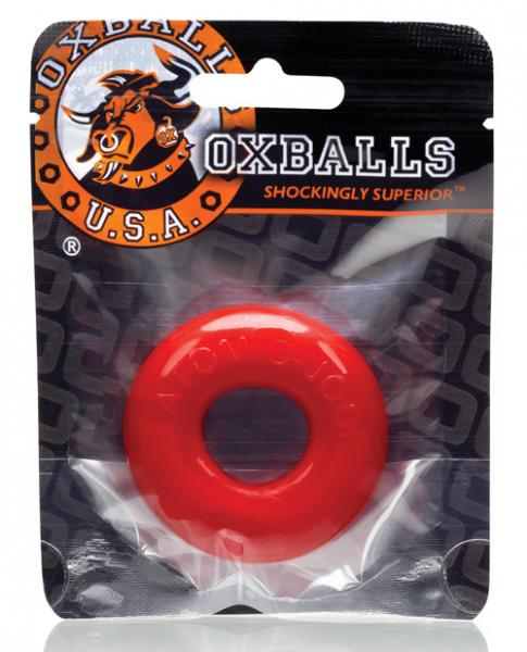 Oxballs Donut 2 Cock Ring Red