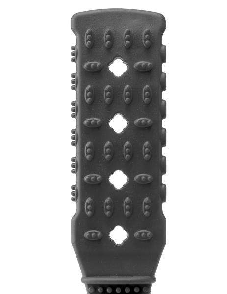 Fetish fantasy series rubber paddle - black