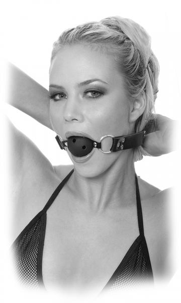 Limited Edition Breathable Ball Gag Black