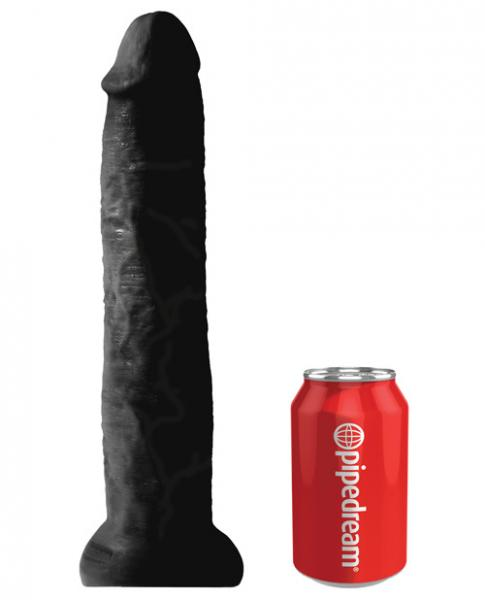 King Cock 13 inches Cock Black Dildo