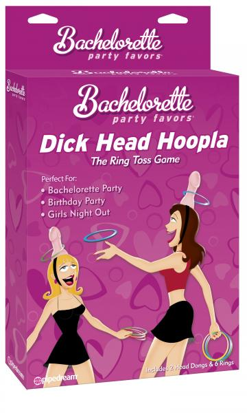 Dick head hoopla ring toss game