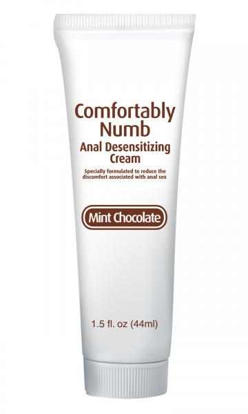 Comfortably numb anal desensitizing cream  - mint chocolate