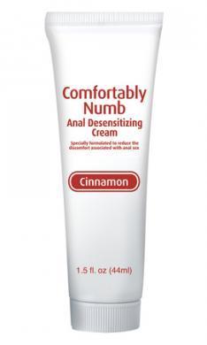 Comfortably Numb Anal Desensitizing Cream Cinnamon 1.5oz