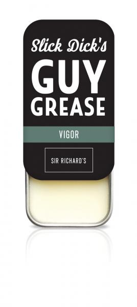 Slick Dick's Guy Grease Solid Cologne Vigor Sport .28oz