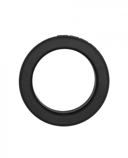 The Rocco Steele Hard 1.4 inches Silicone Super Stretch Black