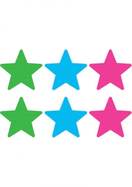Peekaboos Neon Stars Value Pack Of 3 O/S