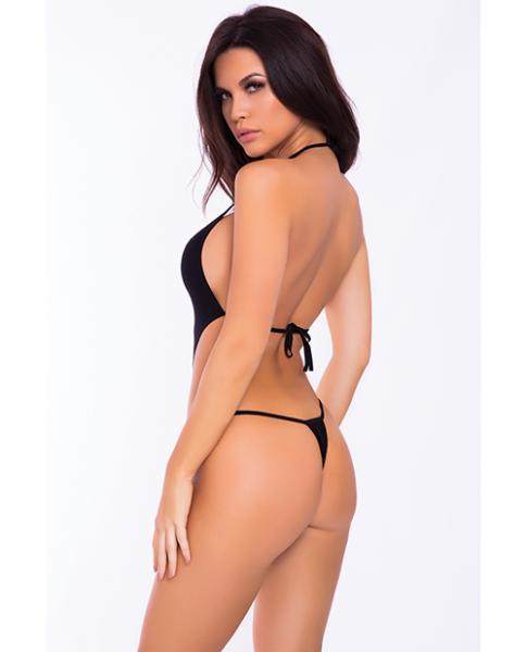 V Is For Vixen Bodysuit Black S/M