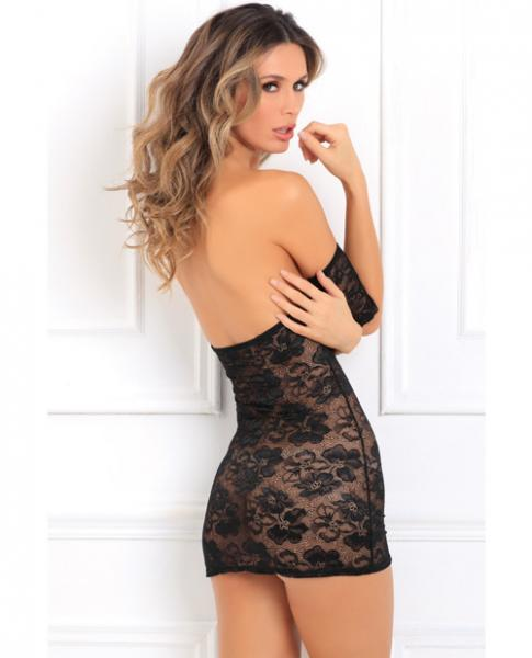 Seductively Stunning Lace Dress Black M/L