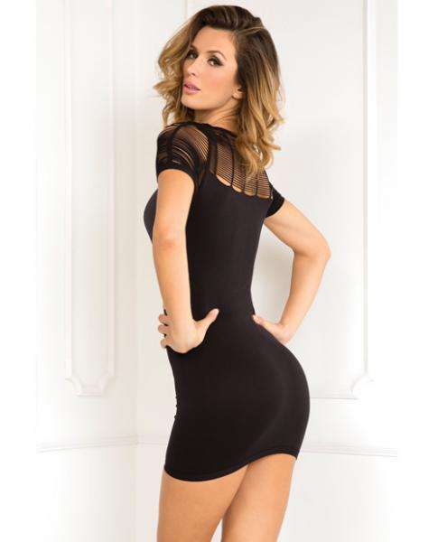Sexy Sophisticated Seamless Dress Black M/L