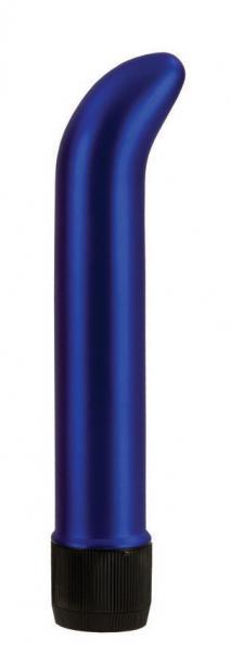 Satin G Slimline Sapphire Blue G-Spot Vibrator