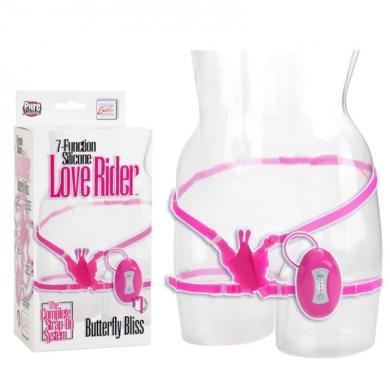 7 Function Silicone Butterfly Bliss - Pink