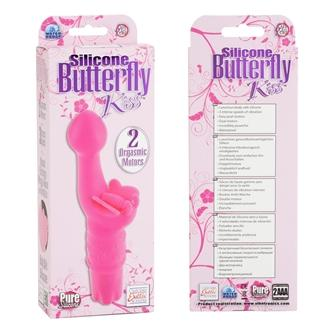 Silicone Butterfly Kiss - Pink