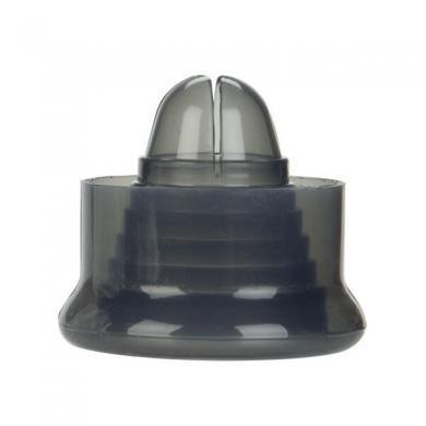Universal silicone pump sleeve - smoke