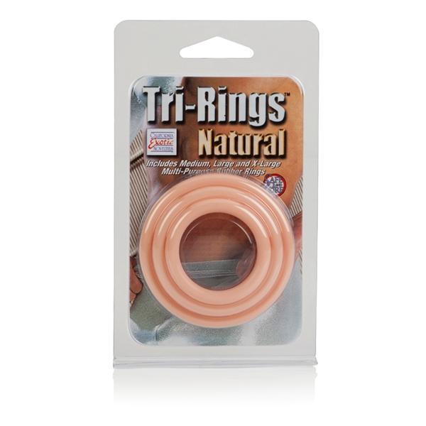 Tri-rings - natural