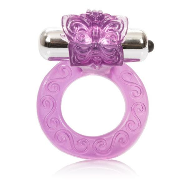Intimate Butterfly Ring Enhancer Purple