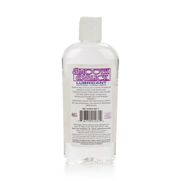 Smooth and Slick Water Based Lubricant 8 oz