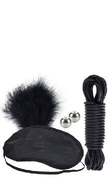 Tie Me Up and Tease Me Kit - Black