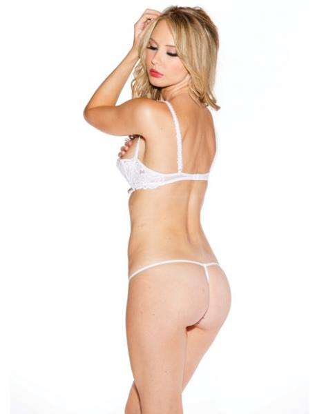 Chopper Bar Shelf Bra Uplifting Cleavage White 40