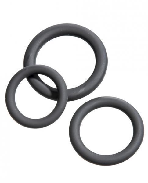 Malesation Cock Ring Set Beginner Black
