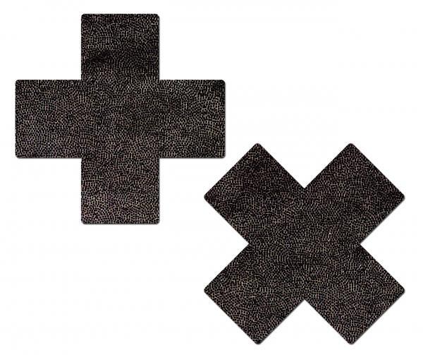 Tease Plus X Liquid Black Cross O/S