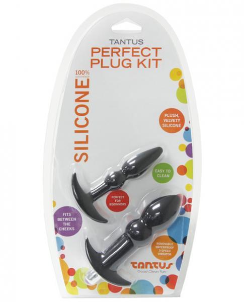 Tantus Perfect Plug Kit Black