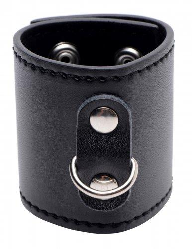 Strict Ball Stretcher with D-Ring 2 inches Black