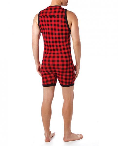 2xist Essential Fashion Bike Suit Plaid Large