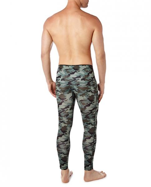 2xist Performance Leggings Green Camo XL
