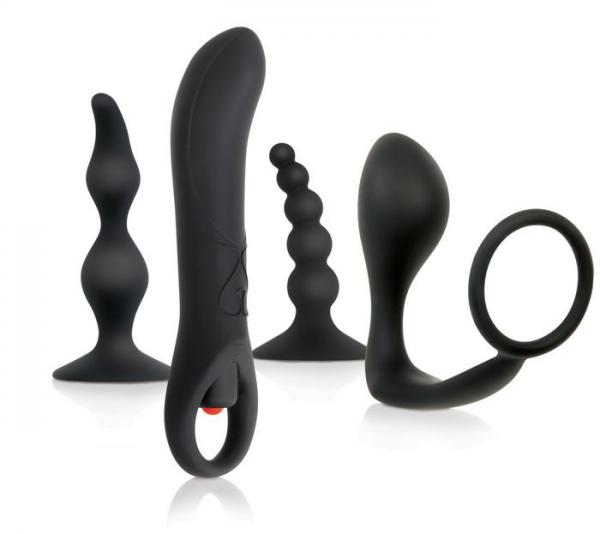 Intro To Prostate Kit 4 Piece Black