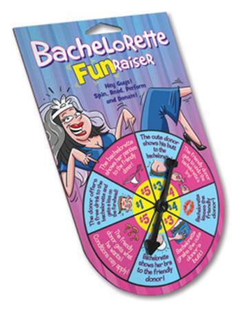 Bachelorette Fun Raiser Spinner Game