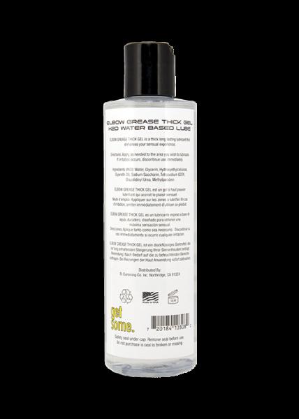 Elbow Grease H2O Thick Gel Regular 8.5oz