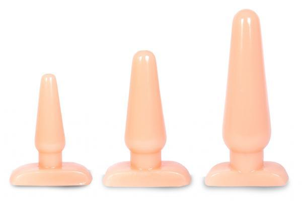 Initiation Anal Training Kit 3 Butt Plugs
