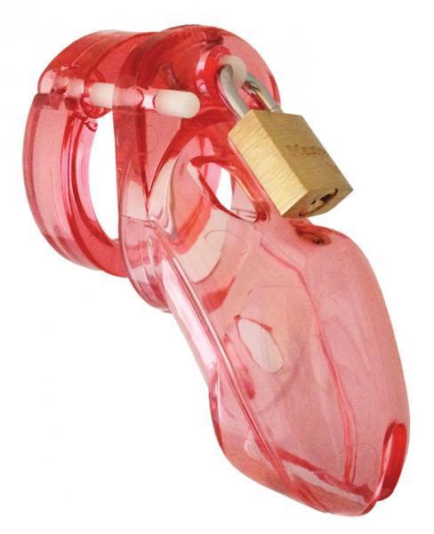 Complete Package Cage Rings Locks Pink