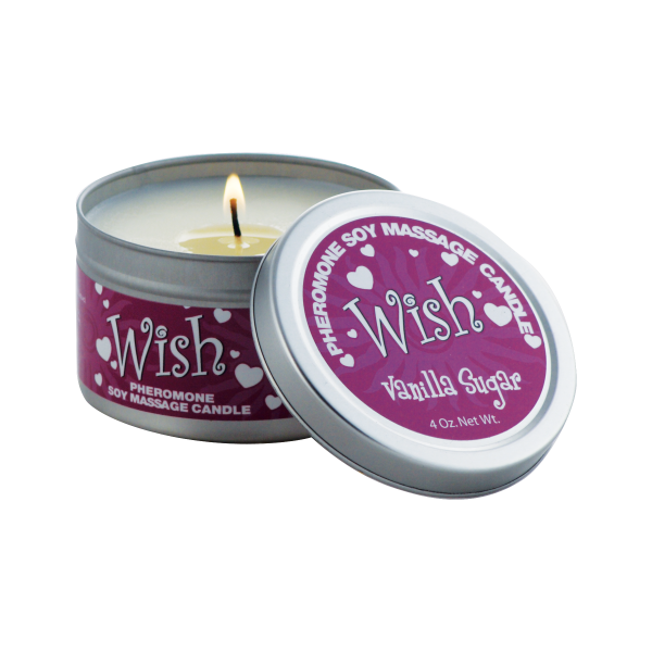 Wish Soy Candle Vanilla Sugar  4oz