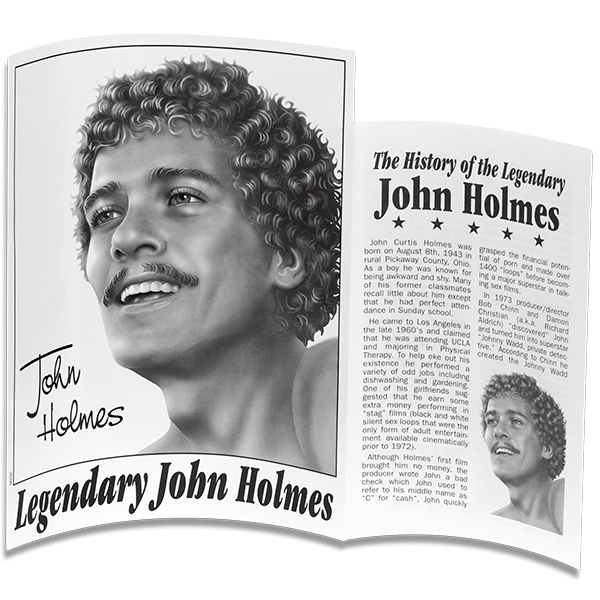 John Holmes Realistic Cock 12 Inches Dildo Beige