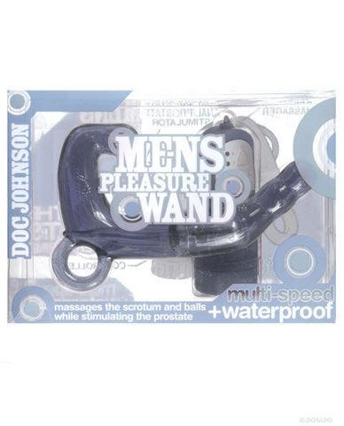 Men's Pleasure Wand Charcoal Smoke