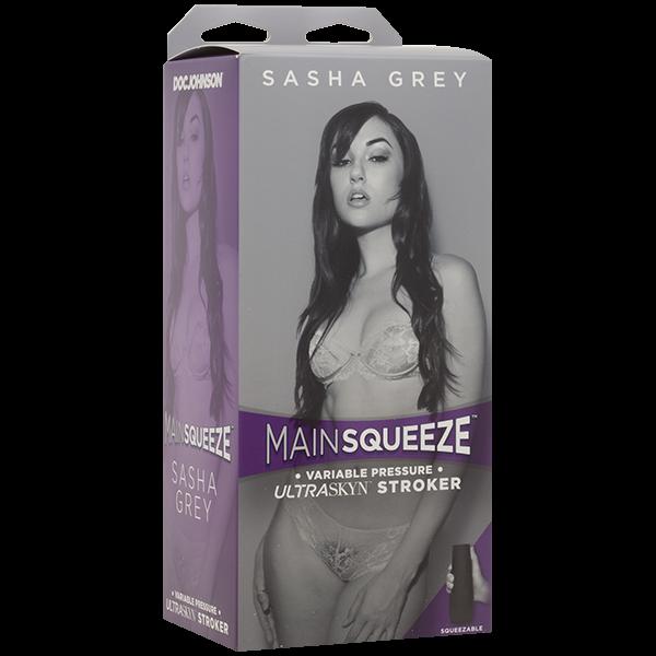 Main Squeeze Pussy Masturbator Sasha Grey Stroker