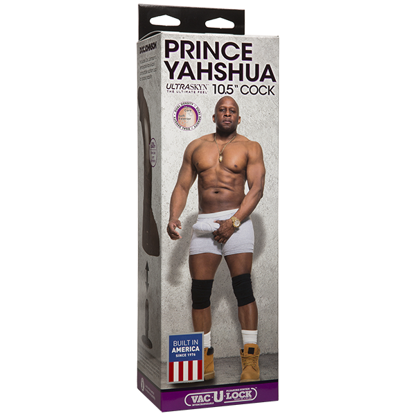 Prince Yahshua Ultra Skyn 10.5 inches Brown Dildo