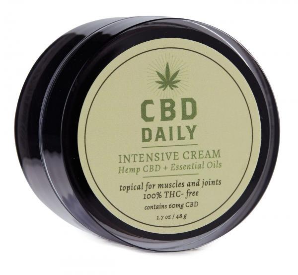 Earthly Body CBD Daily Intensive Cream 1.7oz