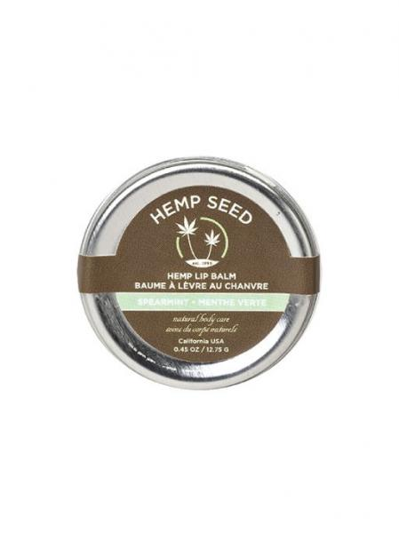 Hemp Lip Balm Tin Spearmint .45oz