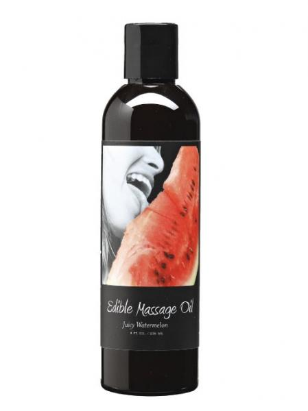 Edible Massage Oil - Watermelon 8 oz