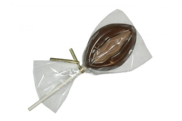 Erotic Chocolate Vagina Sucker Lollipop