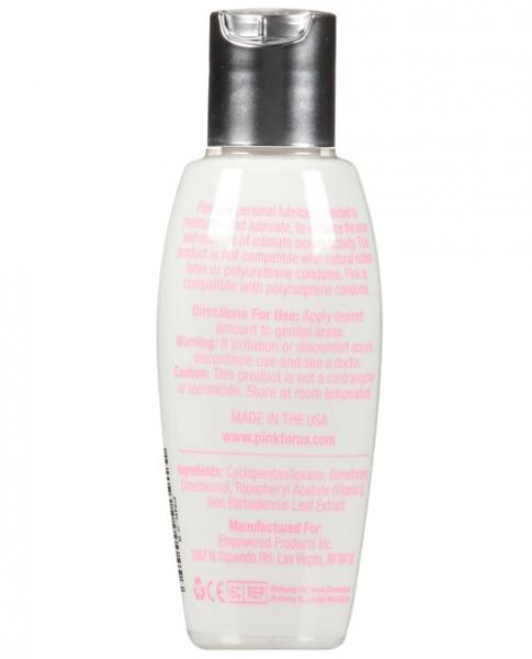Pink Silicone Lubricant for Women 2.8 fluid ounces